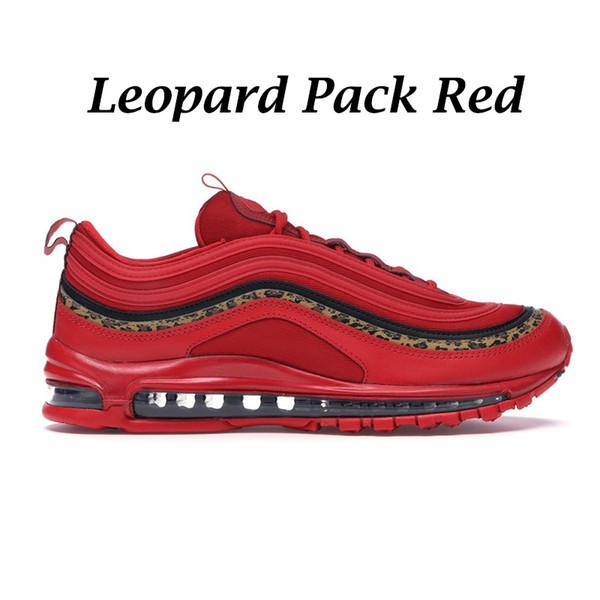 Пакет леопардовый красный