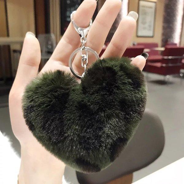 Yeşil aşk tüy yumağı
