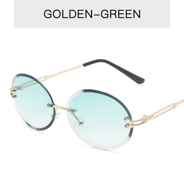 Altın Çerçeve Çift Yeşil Formu