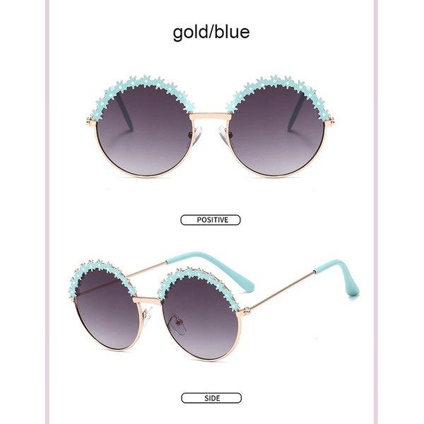 الذهب الأزرق