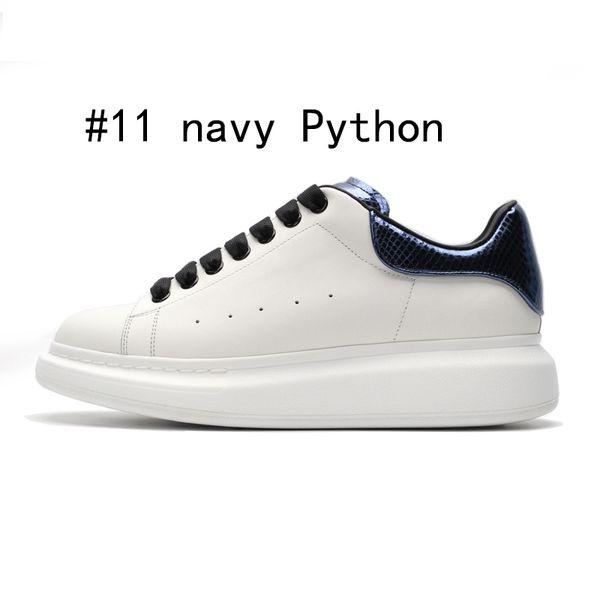 navy blue Python 36-44