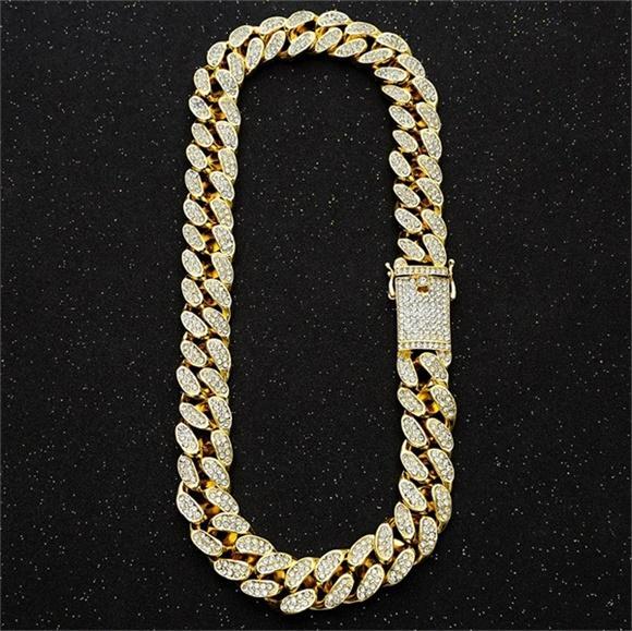 Collar de oro 18inch 20mm