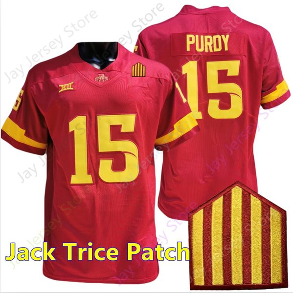 Red Jack Trice Patch