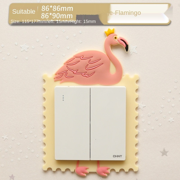 Beige Flamingo-Suitable