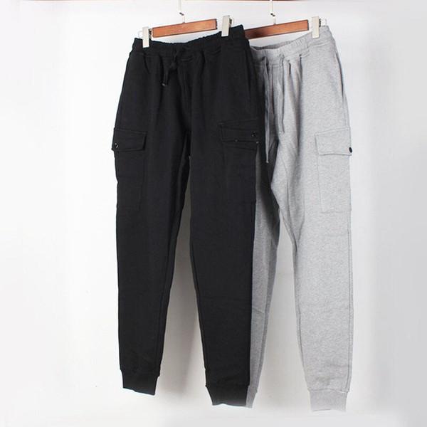 top popular Mens Stylist Track Pant Sweatpants Casual Style Mens Black Grey Joggers Pants Track Pants Cargo Pant Trousers Beam foot trousers 2020