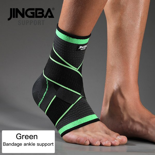 Green Bandage Ankle