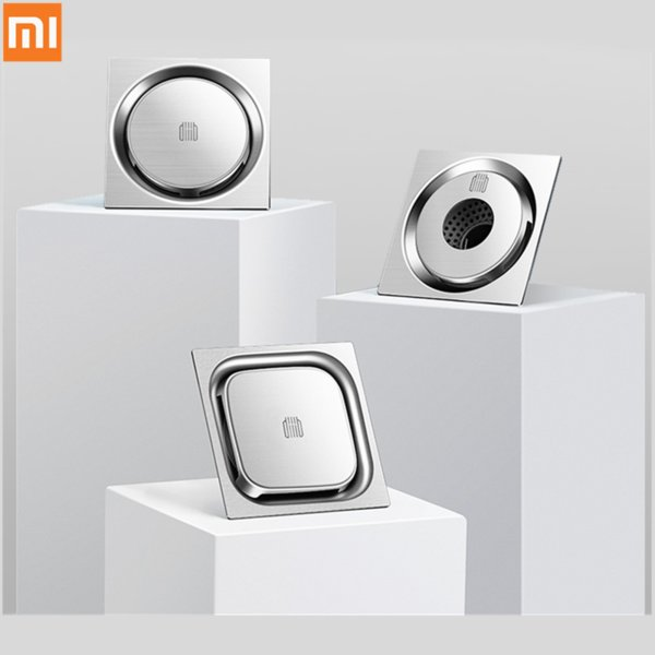 best selling Xiaomi Mijia DaBai DiiiB Floor Drain Deodorant Insect Proof 304 Stainless Steel Swirling Drainage