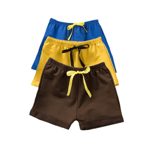 best selling Cotton Boy Shorts Solid Baby Shorts PP Pants Summer Thin Boy Clothes Fashion Baby Girl Shorts