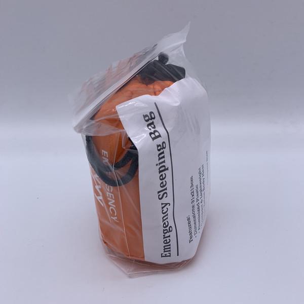 Orange + Nylon bag