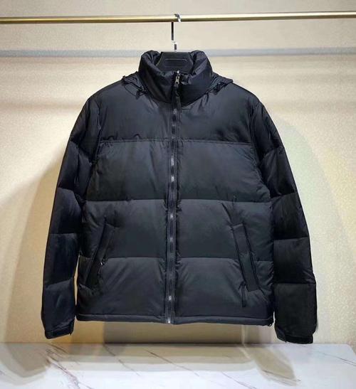 N style(no fur,have hooded)black