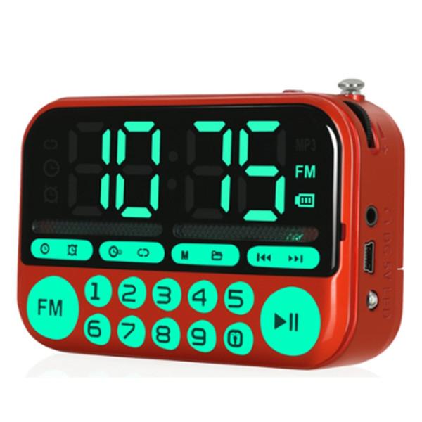 top popular KK22 Large Sn Radio MP3 Card Speaker Portable Music Player 2021