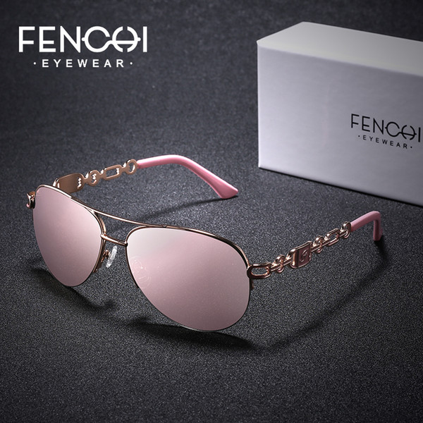 2019 best-selling PC fenchi new European and American women's fashion trend sunglasses Product details display