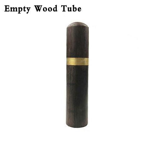 D - Leere Wood Tube