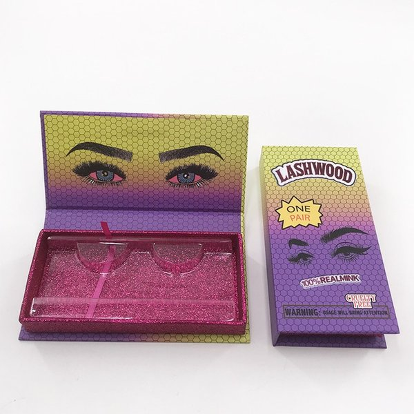 Gradiente cuadro lashwood vacío púrpura