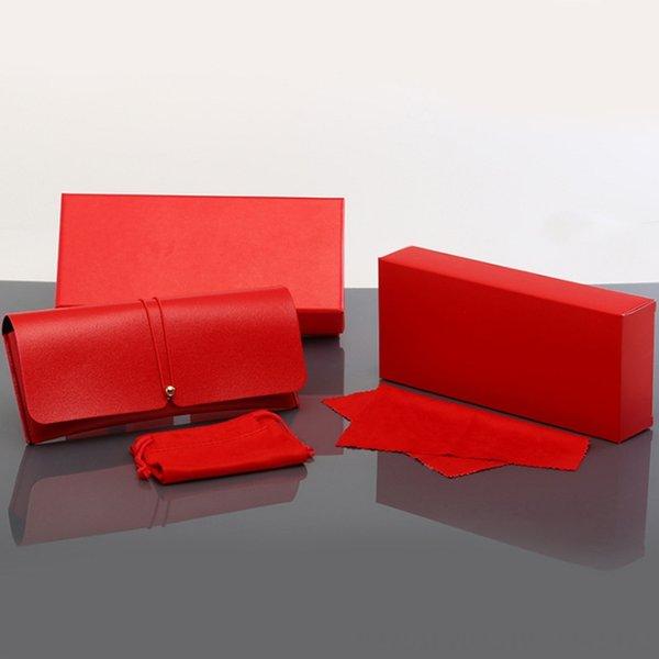 Kırmızı Kılıf + Ayna Bezi + Glasse