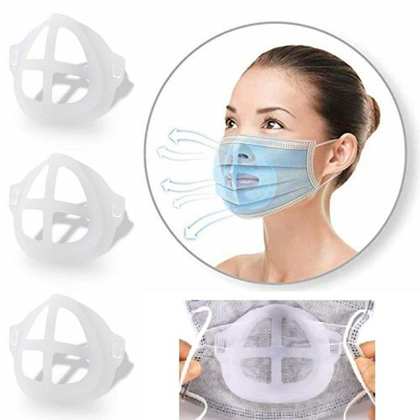 best selling 3D Mask Bracket Reusable Lipstick Protection Stand Inner Support Nose Increase Breathing Space Mouth Cover Holder