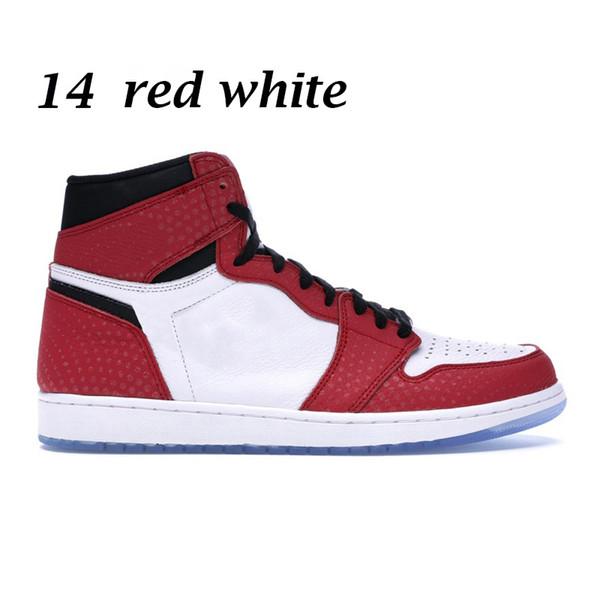 14 빨간색 흰색