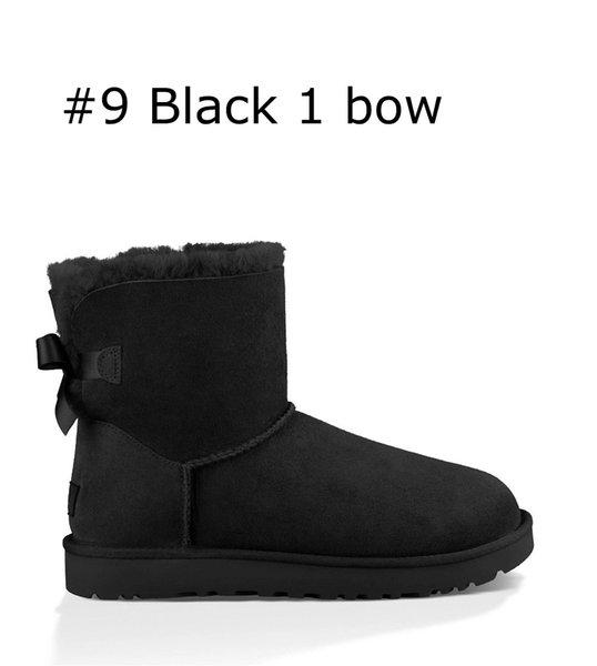 9 Black 1 bow