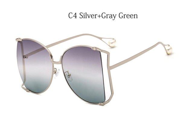 C4 Silbergrau grün