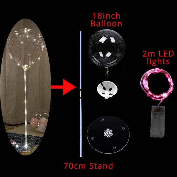 LED 풍선 독립 F