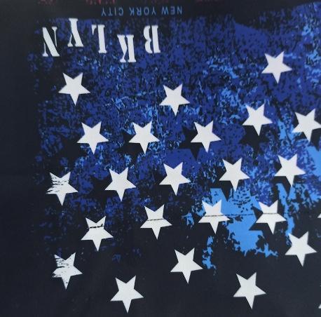 Estrellado del cielo azul, n bolsillo