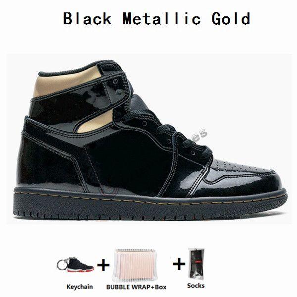 1S والأسود الذهب المعدني