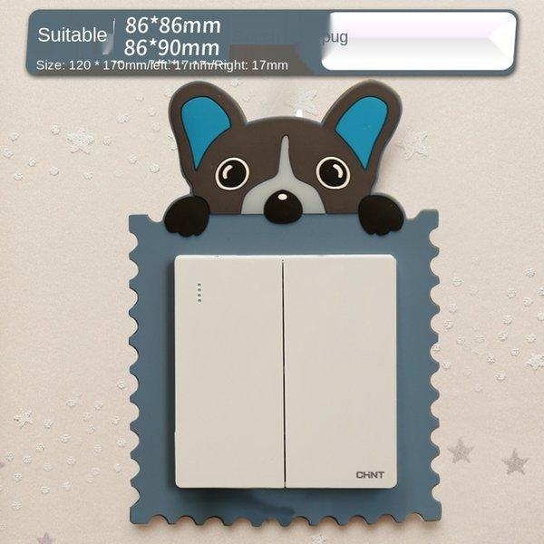Dark Blue Pug-Suitable