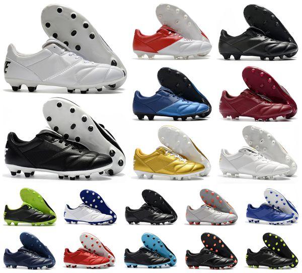 top popular Hot Mens Tiempo Legend Premier II 2.0 FG 7 VII R10 Elite FG soccer shoes boots cleats Retro football Size 39-45 2020