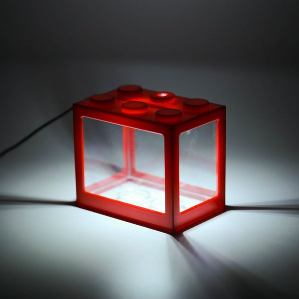 Red Cylinder-White Light Usb