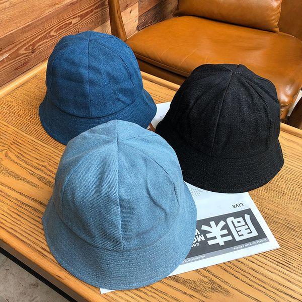 top popular New arrivals Time-Limited Designers Hat Autumn and Winter Men Korean Sunscreen Sunbonnet Bucket Hat Antique Finish Via Rinsing Bucket Hat 2021