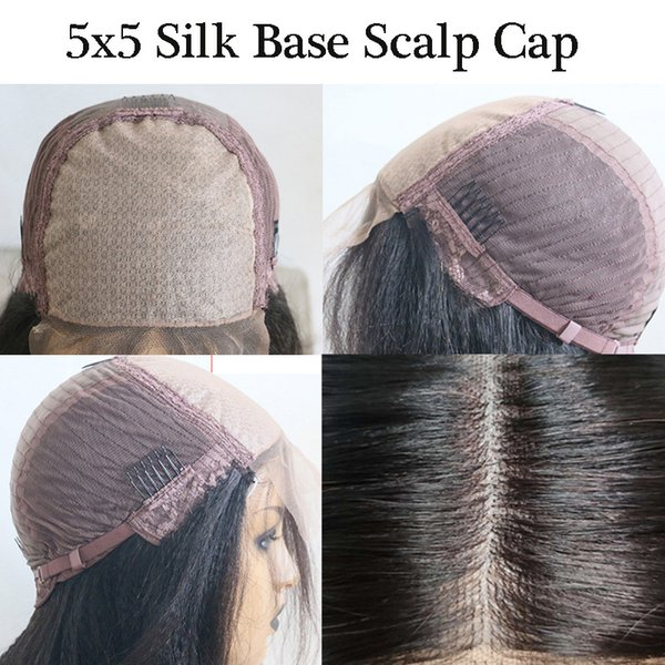 5x5 PU Silk Base Wig