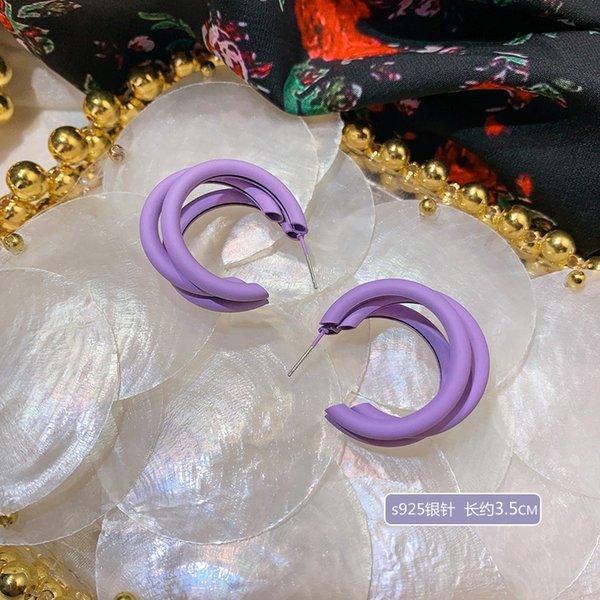 A4284 Multi-capa de anillo de plata de la aguja