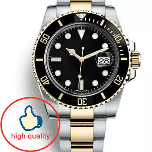 best selling Ceramic Bezel Mens New Green Men 2813 Mechanical Stainless Steel Luxury Automatic Movement Watch Sports Self-wind Watches Wristwatches