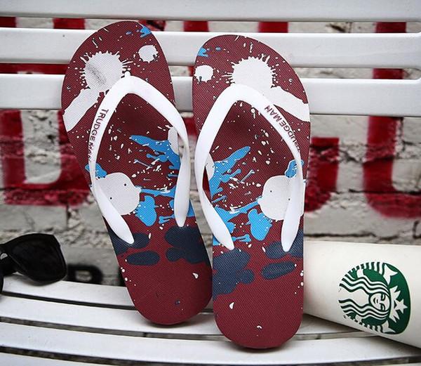 best selling 2020 Summer Slippers Beach Indoor Flat Sandals Slippers House Flip Flops Men Women Sandal With Box