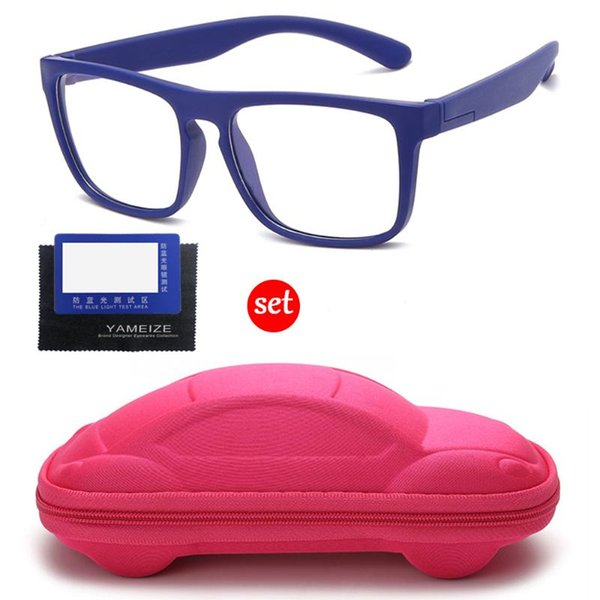 сине-розовый корпус