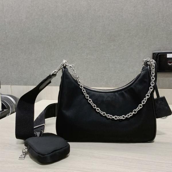top popular TOP Shoulder Bags high quality nylon Handbags Bestselling wallet women bags Crossbody bag Hobo purses 2020