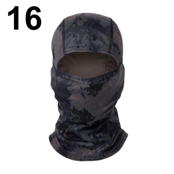 16 moteado Negro