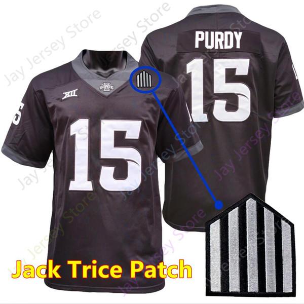 Black Jack Trice Patch