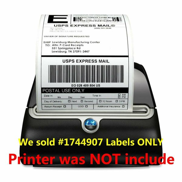 best selling 6 Rolls 4x6 Dymo 4XL 1744907 Compatible Direct Thermal Shipping Labels Adhesive