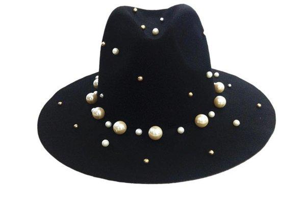 Trilby noirs chapeaux