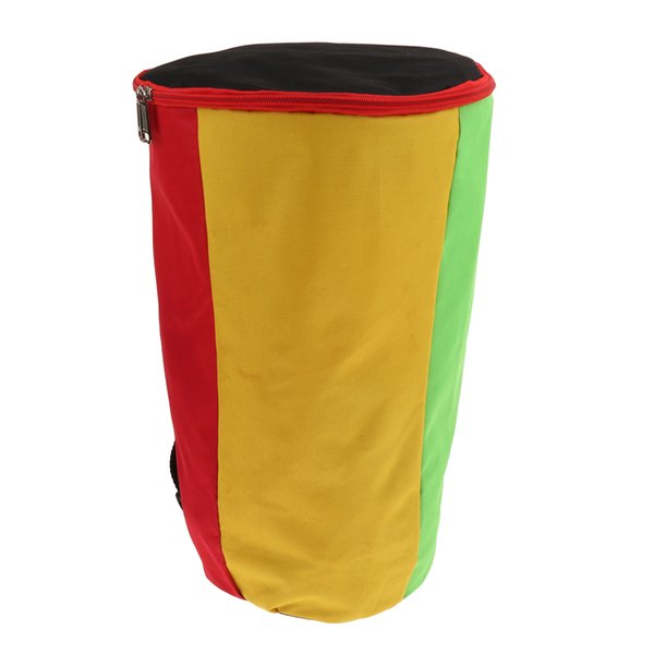 top popular Waterproof Canvas African Drum Gig Bag Padded Bag for Percussion Instrument Parts 2021