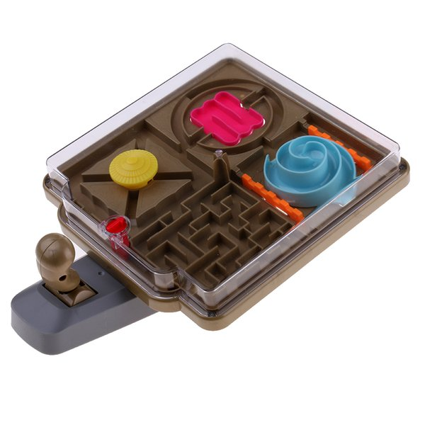 best selling 3D Magic Maze Ball Sand Beach Intellect Puzzle Kids Education Birthday Gift
