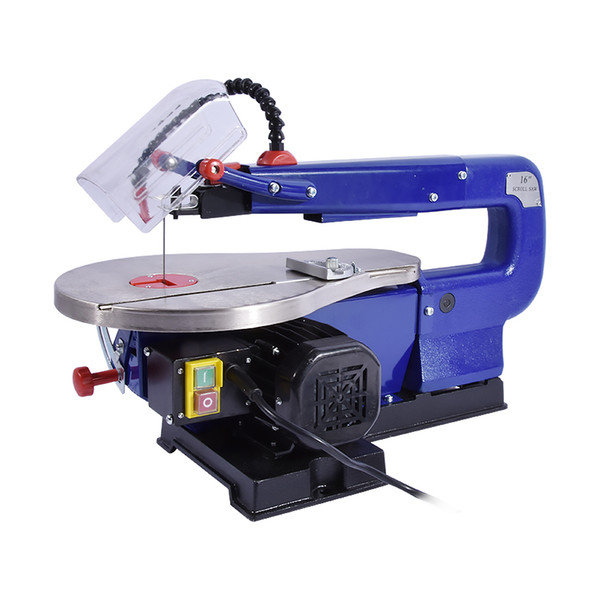 top popular New Arrival 85W MQ50 Wire Saw Machine Woodworking Saws Desktop Electric Curve Saws Wire Saws 220v   110V 1450RPM 0-45 Degrees 2021
