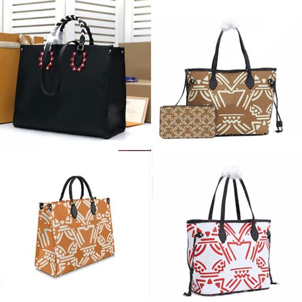top popular 2020 crafty Fashion classic handbag ladies leather shoulder bag and purse tote bag handbag combination bag stBr# 2020