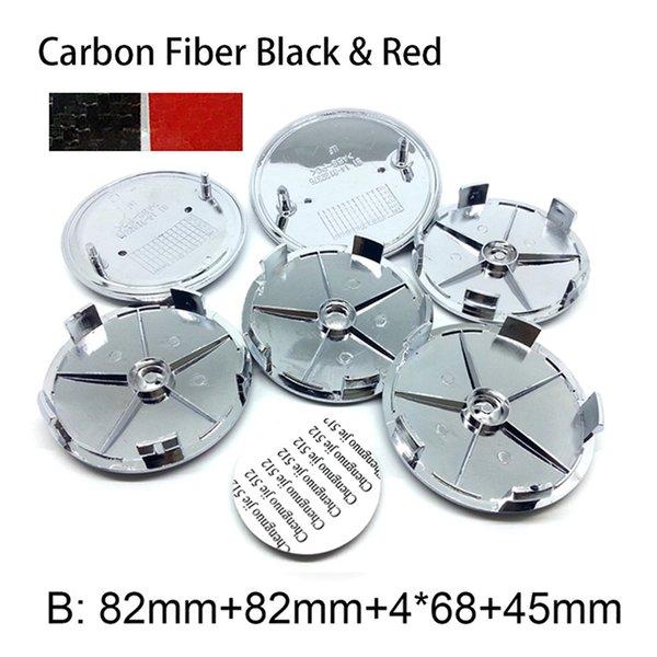Karbon Kırmızı Siyah B