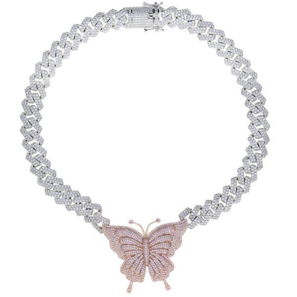 Silber PK Schmetterling 16inch