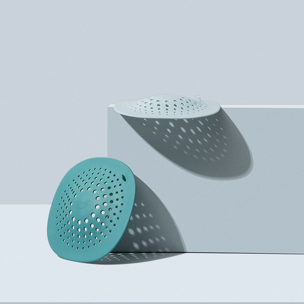 best selling Bathroom hair filter screen floor drain toilet sink drain with suction cup anti blocking hair floor drain cover