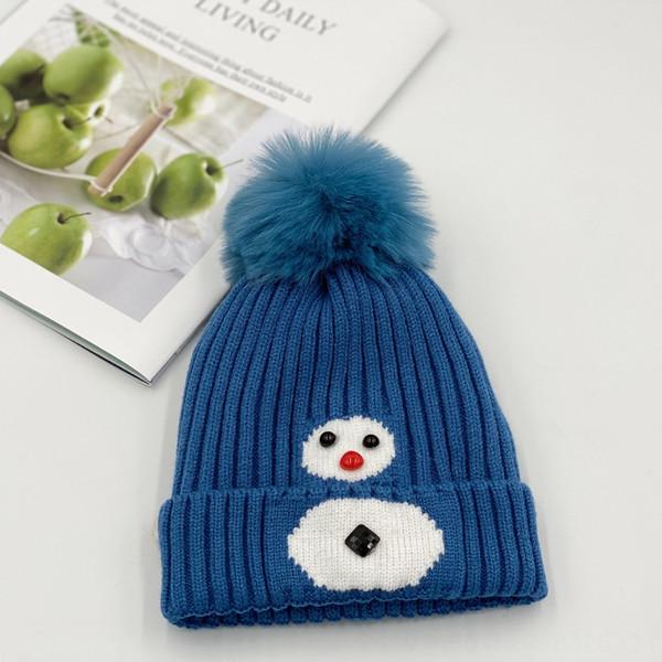 Снеговик Синий