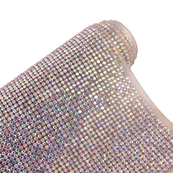 Ab blanco del diamante del color de 2 mm Rhinestone 24