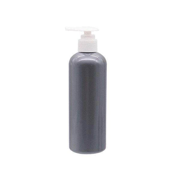 Botella 300 ML blanco gris de plástico